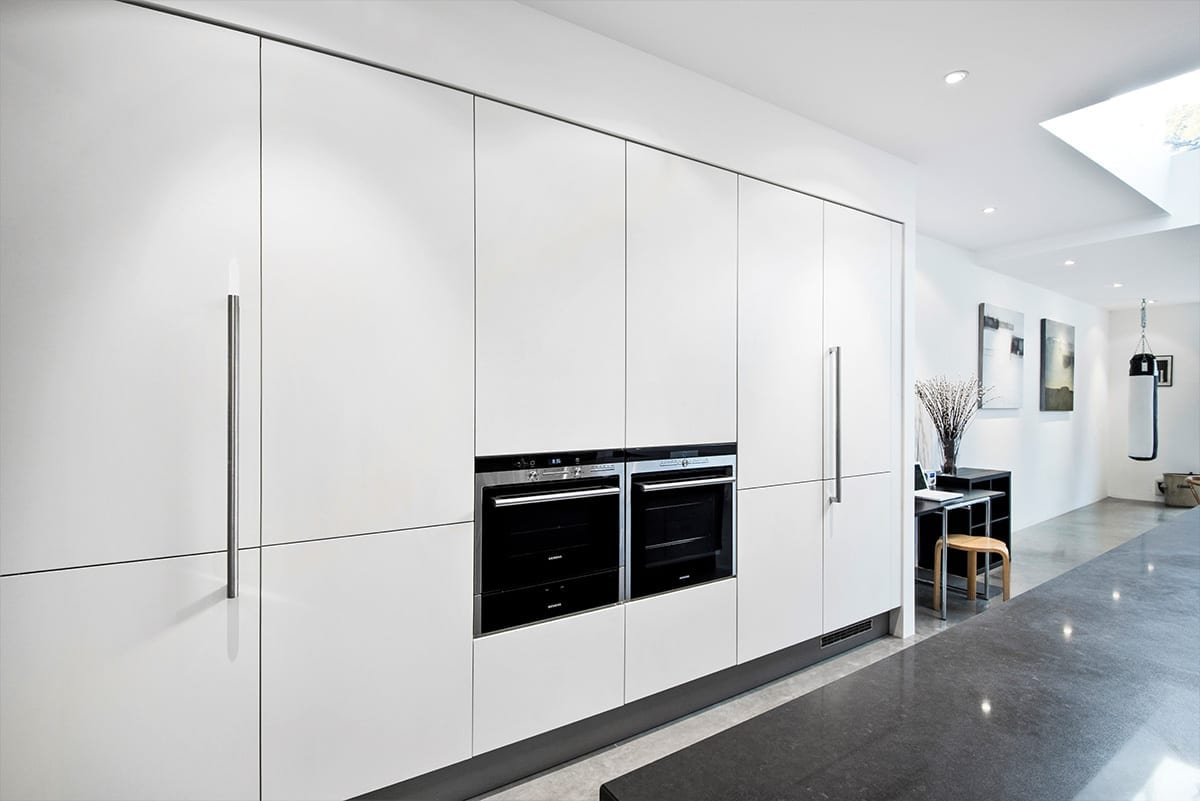 Matt Lacquer Laminate White - Haus12, Newcastle