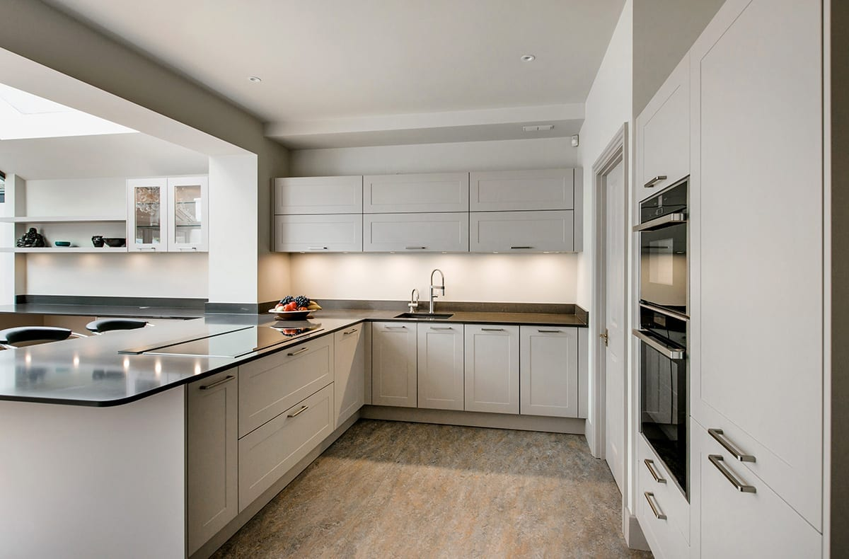 Cashmere Shaker kitchen design - Haus12, Newcastle